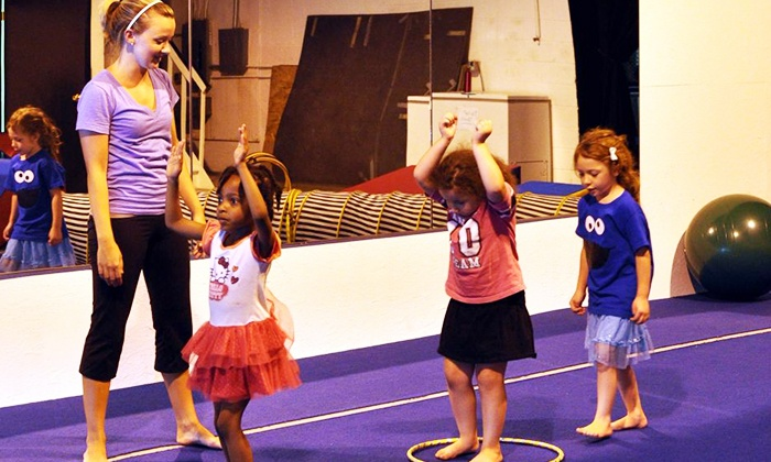 Valley Athletics - Easton: One Month of of KidZone Classes at Valley Athletics (Up to 55% Off)