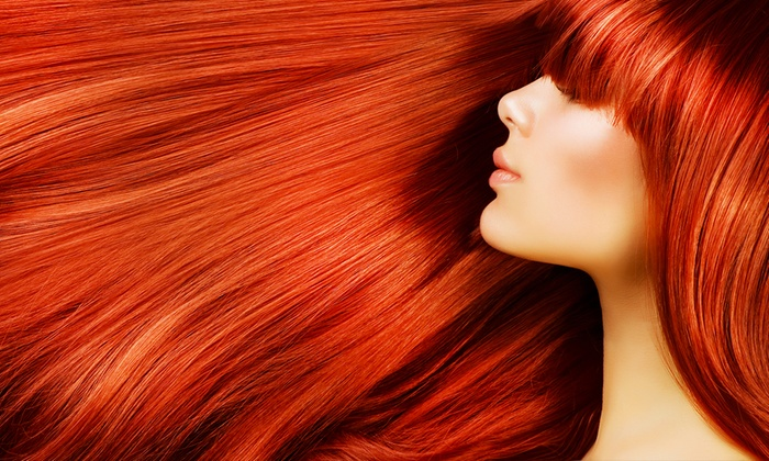 Alexander's by Krissy - Alexander's by Krissy (Located inside Sola Salon Suites, 102): Partial Highlights, or Haircut with Full Highlights or All-Over Color at Alexander's by Krissy (Up to 59% Off)
