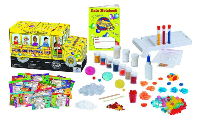 """The Magic School Bus"" Lab Series: $24 for ""The Magic School Bus"" Chemistry or Slime and Polymer Lab ($39.99 List Price). Free Shipping and Free Returns."