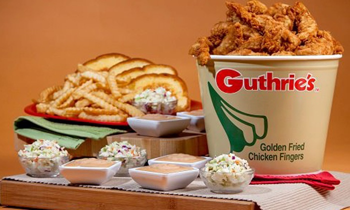 Guthrie's Chicken Fingers - Tremont: $12 for Two Groupons, Each Good for $10 Worth of Chicken at Guthrie's Chicken Fingers