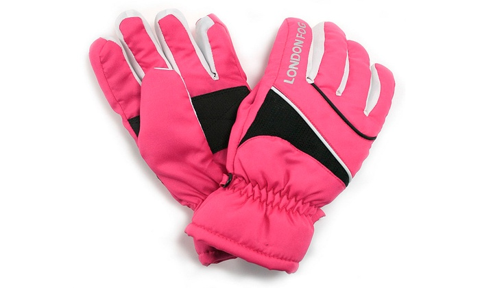 London Fog Girls Ski Gloves