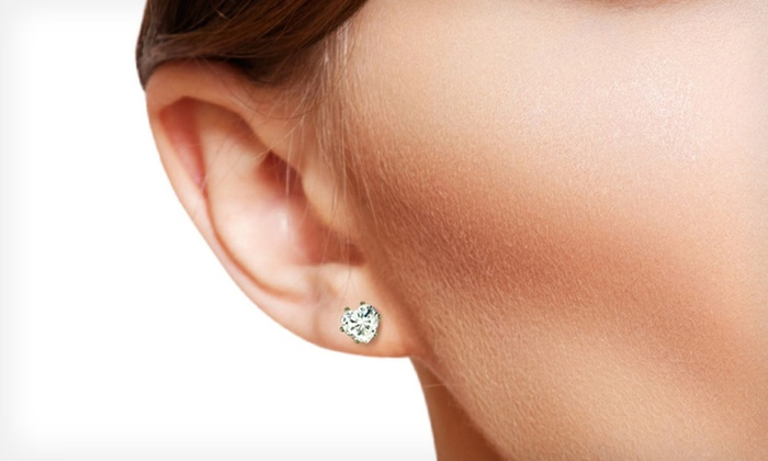 Heart-Shaped Cubic Zirconia Jewelry Set: $9 for Heart-Shaped Cubic Zirconia Jewelry Set ($99.99 List Price). Three Styles Available. Free Returns.