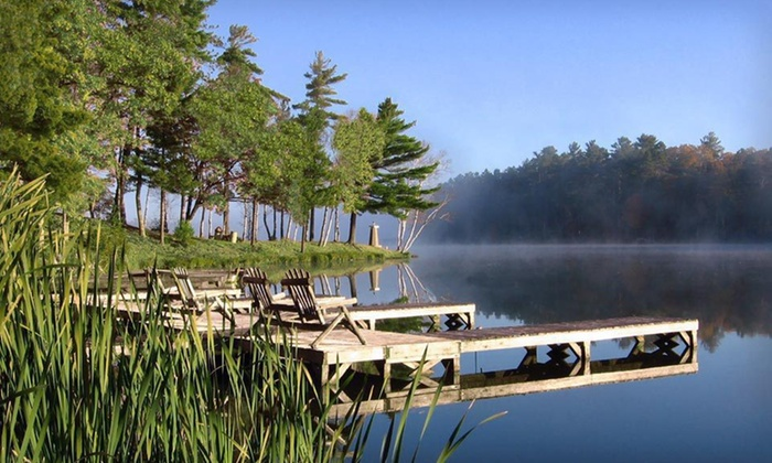 Black Bear Lodge - Saint Germain, WI: $129 for a One-Night Stay at Black Bear Lodge in Wisconsin's Northwoods (Up to $219 Value)