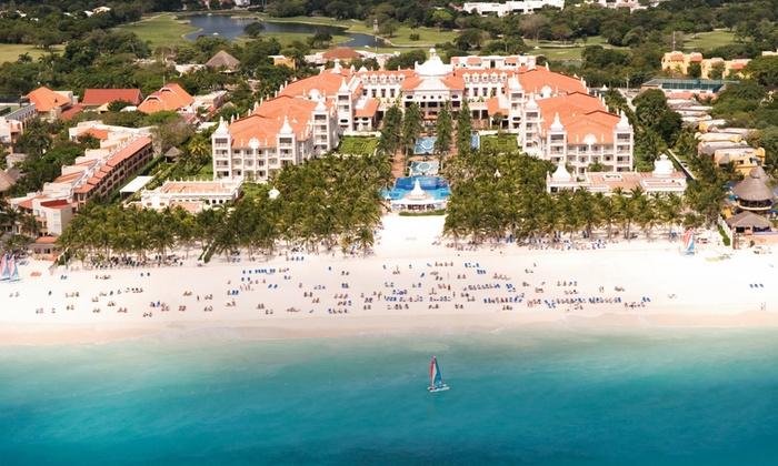 All-Incls. Riu Palace Riviera Maya Trip w/ Air from Vacation Ex