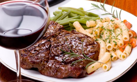 Three-Course Dinner with Wine for Two or Four at Assembly Steakhouse (Up to 52% Off)
