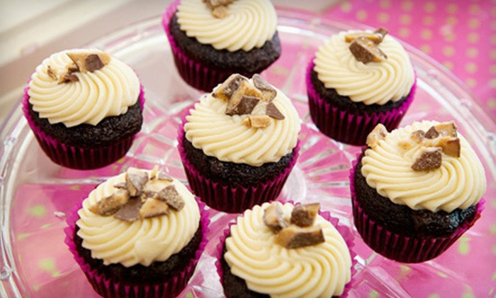 Sweet Mellisa's Cupcakes - Alger Heights: $7 for Two Pour Over Coffees and Four Cupcakes for Two at Sweet Mellisa's Cupcakes ($14 Value)