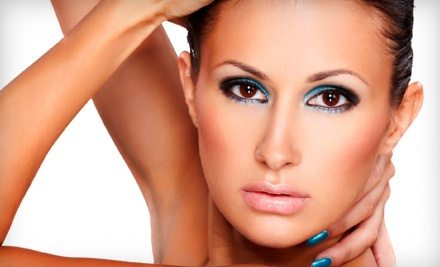Spa Package: Including a 60-Minute Wrinkle Control Modeling Treatment Facial, Deep-Conditioning Treatment, and Blow-Out - Elite Hair Studio & Spa in East Rutherford