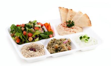 Mediterranean Food and Drinks at Parsley Mediterranean Grill (Up to 50% Off). Two Options Available.