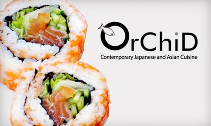 Orchid - Bloomingdale: $20 for $40 Worth of Pan-Asian Cuisine at Orchid in Bloomingdale