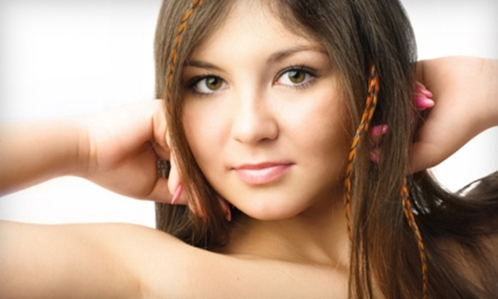 AveYou Beauty Boutique - Deal: Feather Hair Extensions or Beauty Products and Supplies at AveYou Beauty Boutique in Deal