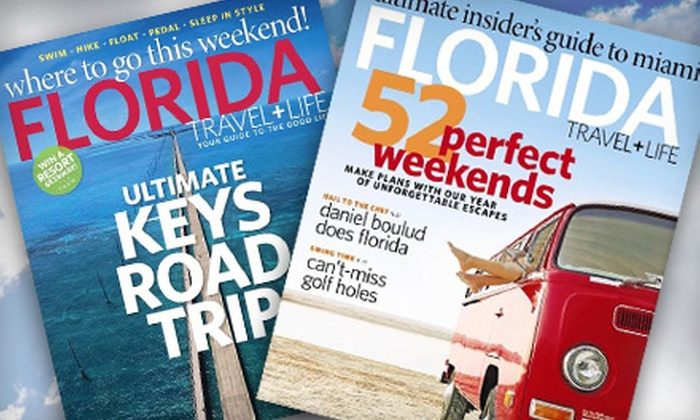 """Florida Travel + Life Magazine"" - Lakeland: $6 for a One-Year Subscription to ""Florida Travel + Life"" Magazine"