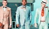 Catou - Carmel: Custom Dress Shirt, Suit-Accessories Package, or Both from Catou (Up to 57% Off)
