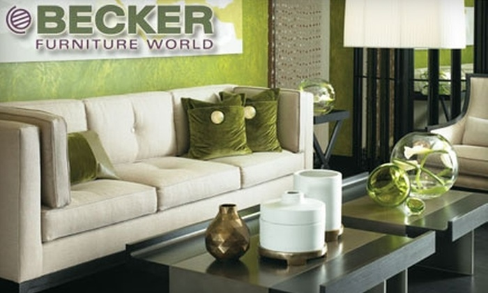 Becker Furniture World - Multiple Locations: $35 for $100 Worth of Furniture, Mattresses, and Area Rugs at Becker Furniture World