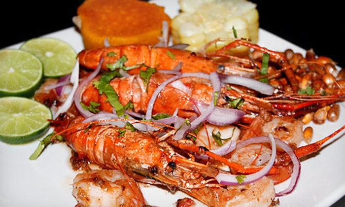 Los Cabos II - Central Business District: $15 for $30 Worth of Peruvian Cuisine and Drinks at Los Cabos II