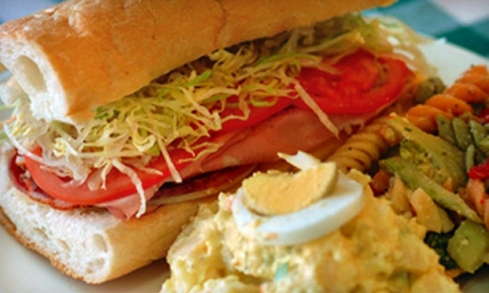 Frankie's Deli - Lombard: $5 for $10 Worth of Italian Subs and Specialties or $30 for $60 Toward Catering at Frankie's Deli in Lombard