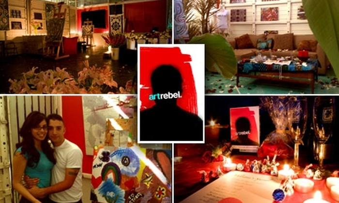 Art Rebel - Sherman Oaks: $95 for the Love Art Experience for Couples at Art Rebel