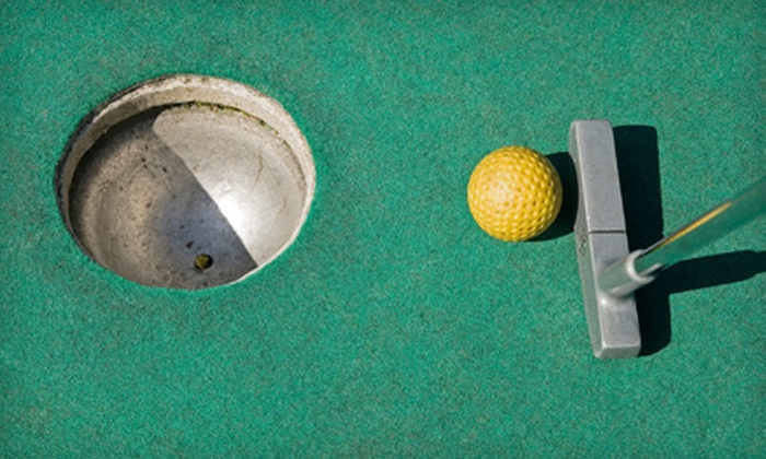 Easy Street Family Fun Center - Ocala: $24 for Mini Golf, Game Tokens, and Refreshments for Up to Four at Easy Street Family Fun Center in Ocala (Up to $50 Value)