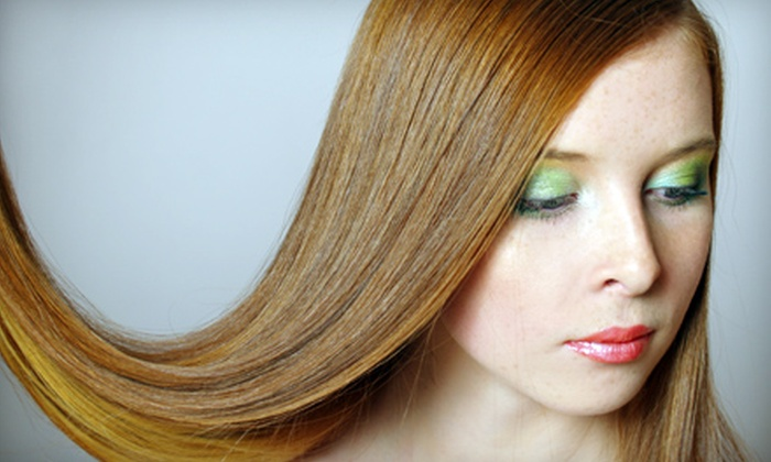 Hair Ambition - Nutley: Express or Full-Length Keratin Treatment at Hair Ambition in Nutley (Up to 54% Off)