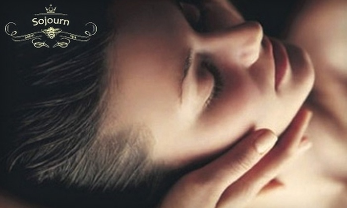 Sojourn Salon & Spa - Barrington: $89 for 120-Minute Signature Facial, Full-Body Massage, and Foot-Reflexology Session Package ($210 Value) or $150 for a Brazilian Blowout ($350 Value) at Sojourn Salon & Spa in Barrington, New Jersey ($210 Value)