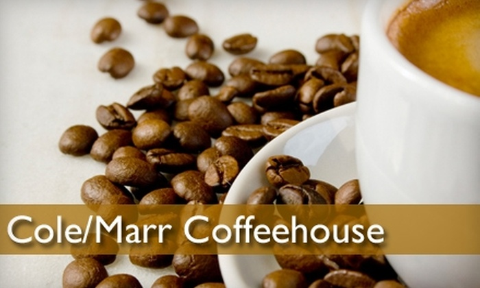 Cole/Marr Coffeehouse - Boise: $5 for $10 Worth of Coffee and Baked Goods at Cole/Marr Coffeehouse