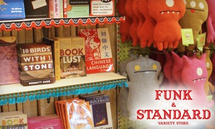 Funk & Standard Variety Store - Multiple Locations: $20 for $50 Worth of Apparel and Accessories at Funk & Standard Variety Store in Red Bank and Westfield