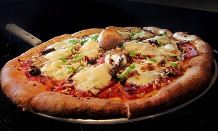 Bella Pizza & Pasta - Canyon Park: Takeout Pizza Dinner for Four or Dine-in Italian Dinner and Drinks for Two at Bella Pizza & Pasta in Bothell
