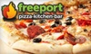 $10 for Pizza at Freeport Pizza Kitchen