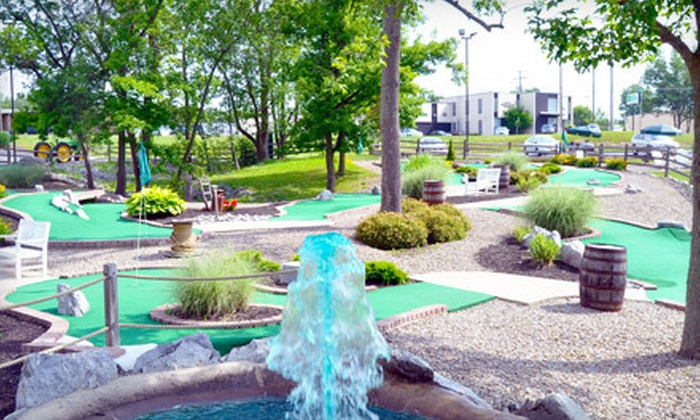 Broadway Driving Range & Miniature Golf Course - Depew: $14 for Four Buckets of Balls or Rounds of Mini Golf at Broadway Driving Range & Miniature Golf in Depew (Up to $30 Value)