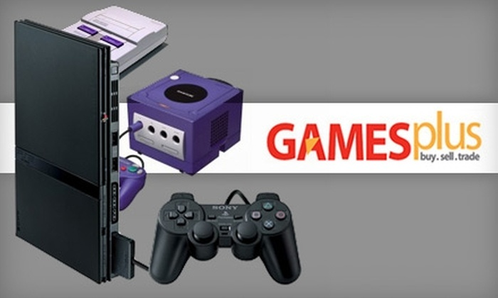 GAMESPlus - Multiple Locations: $5 for $15 Worth of Gaming Gear at GAMESPlus