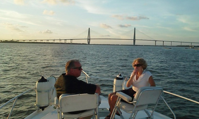 Centerline Charters - Mount Pleasant: Two-Hour BYOB Morning, Midday, or Sunset Harbor Cruise for Two or Up to Six from Centerline Charters (Up to 59% Off)
