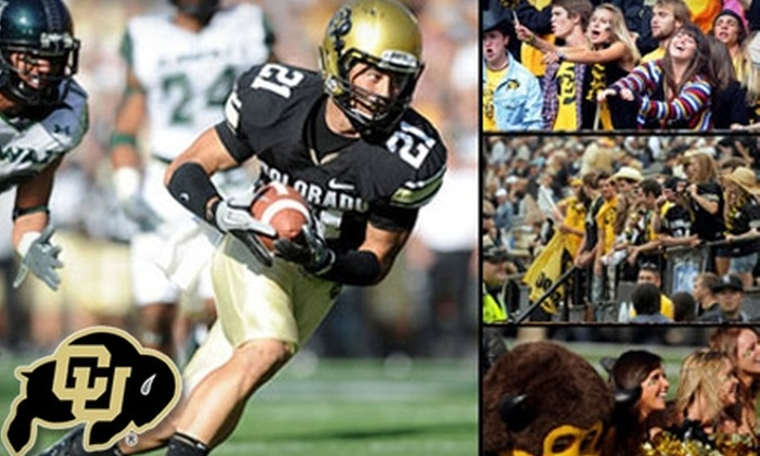 University of Colorado Football - Boulder: $15 for a Goal Line Ticket to the Colorado vs. Iowa State Football game in Boulder ($65 Value)