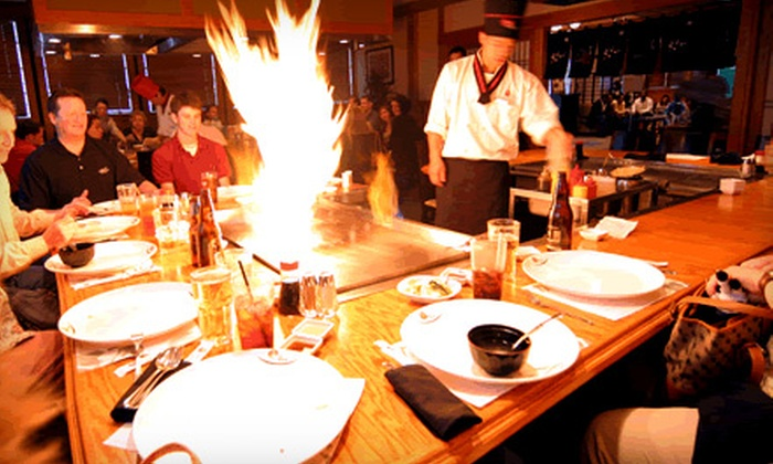 Kani House - Multiple Locations: Hibachi-Style Fare and Sushi for Dinner or Lunch at Kani House. Six Locations.