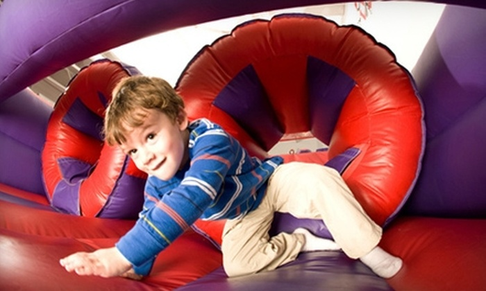 BounceU - Annville: $17 for Five Open Bounce Sessions at BounceU in Annville ($35 Value)