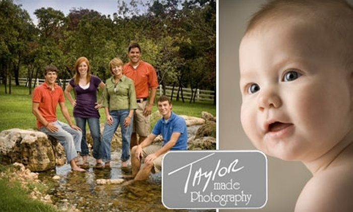 Taylor Made Photography - Edmond: $39 for a Standard, One-Outfit Photo Session, 5x7 Gift Portrait, and Digital Slideshow at Taylor Made Photography ($230 value)