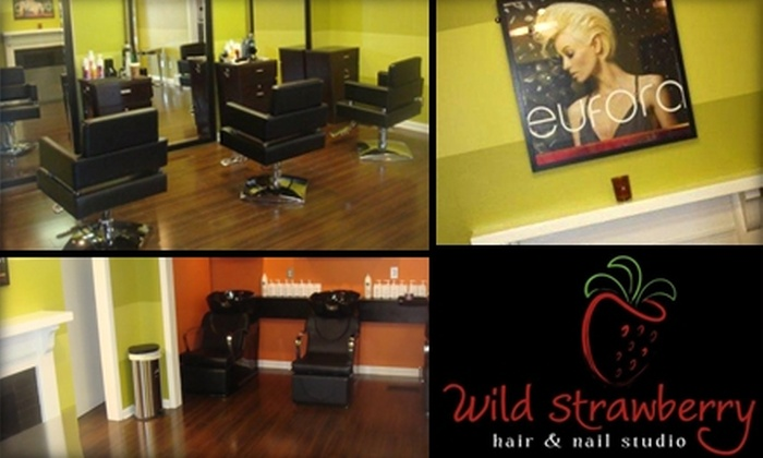Wild Strawberry Hair and Nail Studio - East Louisville: $40 for Your Choice of Two Services at Wild Strawberry Hair and Nail Studio (Up to $95 Value)