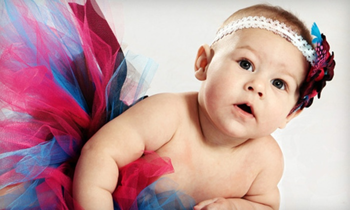 Stick Productions - Rosemont - Mount Royal: Baby-, Individual-, Couple-, Grad-, Boudoir-, or Family-Portrait Sitting with Prints at Stick Productions (Up to 56% Off)