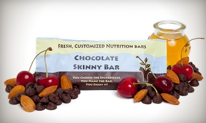 You Bar: $12 for $25 Worth of Custom Nutrition Bars, Shakes, Trail Mix, and More from You Bar