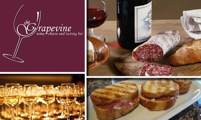 The Grapevine - Willow Glen: $40 Worth of Wines, Cheeses, and More at The Grapevine