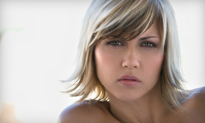 Shapers Hair Salon & Spa - Central City: Men's and Women's Cut or Highlights at Shapers Hair Salon & Spa. Three Options Available.