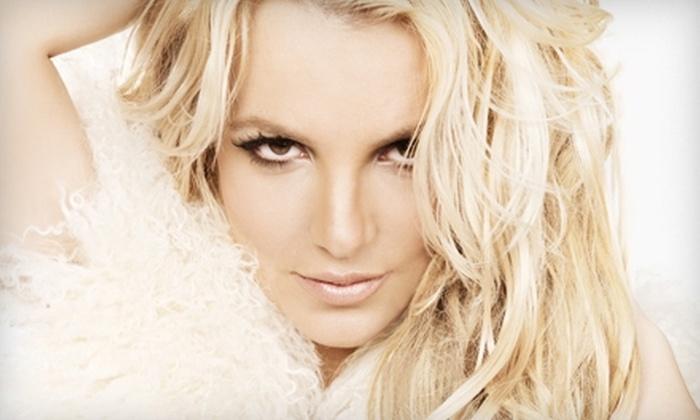 Britney Spears at the Toyota Center - Downtown: Britney Spears at the Toyota Center on July 13 at 7 p.m. Three Options Available.