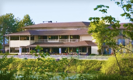 1-Night Stay for Two Adults and Up to Two Kids in a Deluxe Room - Valley River Inn in Eugene