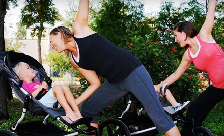 4 Stroller Fitness Classes (a $60 value) - Baby Boot Camp in Portland