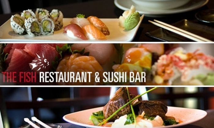 The Fish - Oak Lawn: $20 for $40 Worth of Succulent Sushi at The Fish