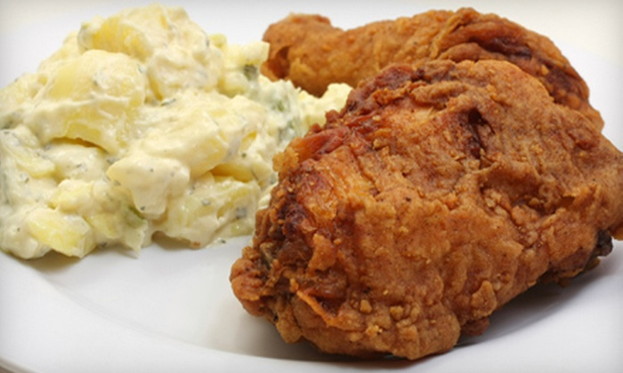 Levi's Port Soul Food Café - Southeast,Navy Yard,Southeast Washington: $16 for a Prix Fixe Soul-Food Meal for Two at Levi's Port Soul Food Café (Up to $35.65 Value)