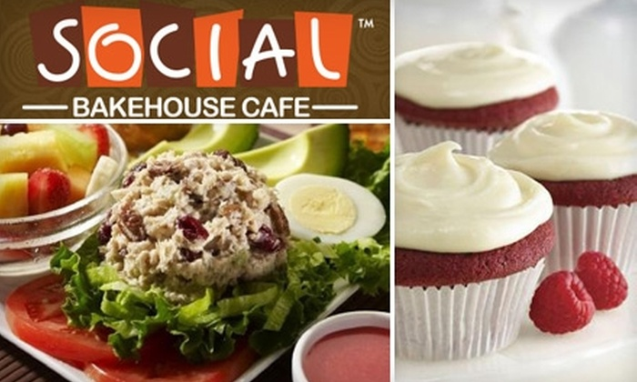 Social Bakehouse Cafe - Arlington: $10 for $20 Worth of Fresh Baked Goods and More at Social Bakehouse Cafe in Arlington