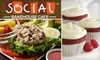 Social Bakehouse Cafe - Arlington: $10 for $20 Worth of Fresh Baked Goods and More at Social Bakehouse Cafe in Arlington