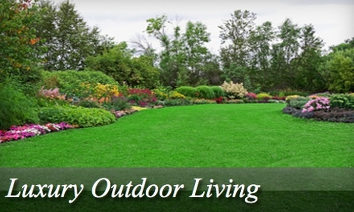 Luxury Outdoor Living - Charlotte: $39 for a Lawn Aeration ($80 Value) or $20 for One Week of Lawn Maintenance (Up to $40 Value) from Luxury Outdoor Living