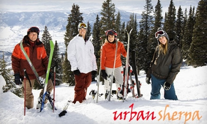 Urban Sherpa - Multiple Locations: Up to 51% Off Skiing Day Trip to Hunter Mountain with Urban Sherpa. Choose from Two Options.