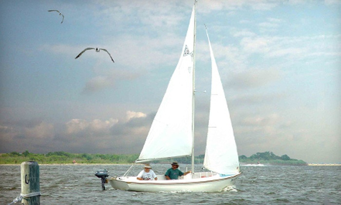 Barnegat Bay Sailing School - Berkeley: Three-Hour Introductory Sailing Lesson for One or Two from Barnegat Bay Sailing School (Up to 53% Off)