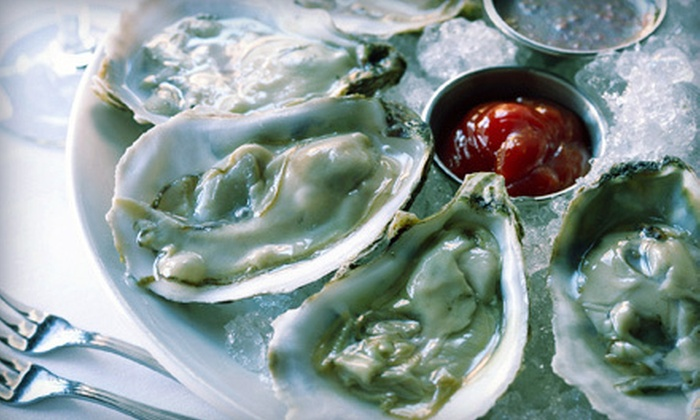 Beebo Seafood & Raw Bar - Bay Ridge & Fort Hamilton: $29 for Oysters and Martinis or Champagne for Two at Beebo Seafood & Raw Bar (Up to $78 Value)